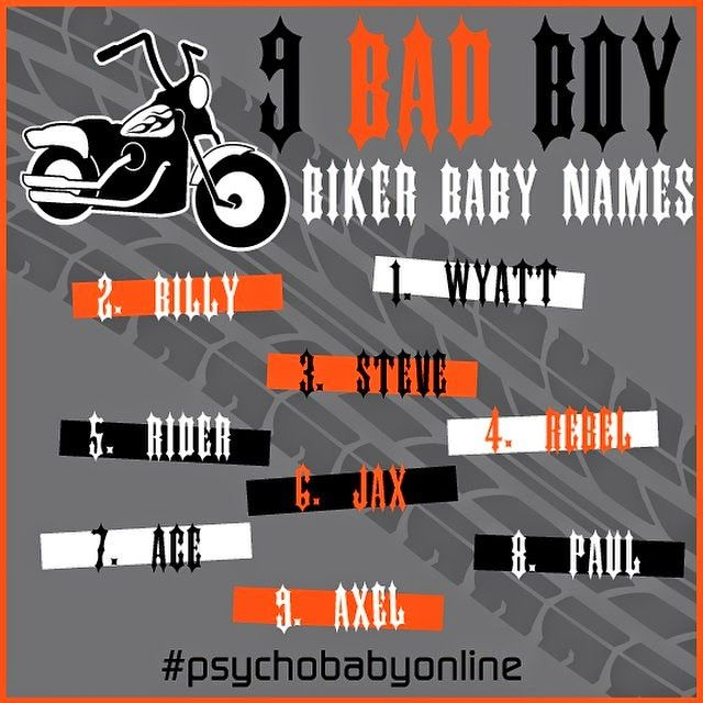 Best biker nicknames
