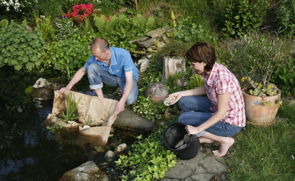 Richtig Anlegen Teich Im Garten Anlegen Und Pflegen Nutzliche Tipps Fur Hobby Gartner