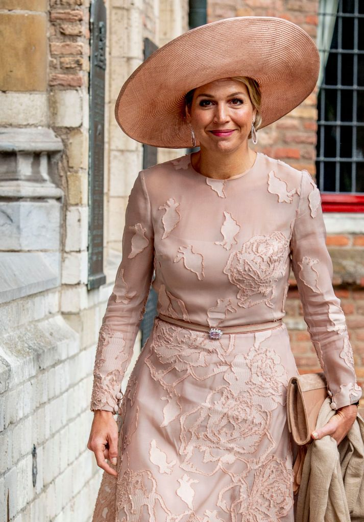 Queen Maxima Of The Netherlands During The Award Ceremony