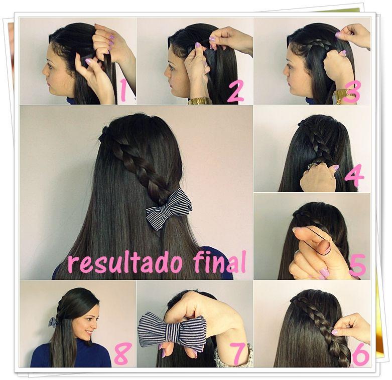 peinados con trenzas paso a paso buscar con google - Peinados Chulos