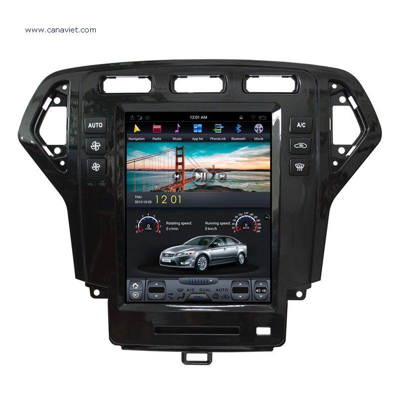 Tesla Style Vertical Screen Android Sat Nav Autoradio Car Multimedia Stereo Gps Navigation Dvd Radio Audio Head Unit Gps Navigation Car Dvd Players Ford Mondeo