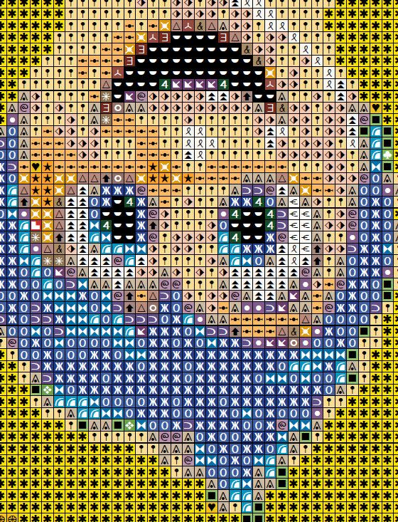 Inside Out Cross Stitch Pattern - Pixar Inside Out
