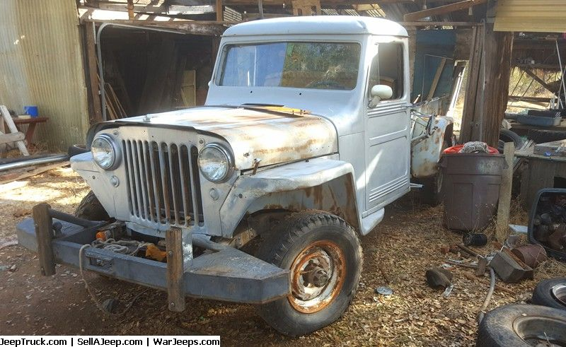1947 Willys Jeep Pickupto Restore Or Parts Jeep Pickup Truck