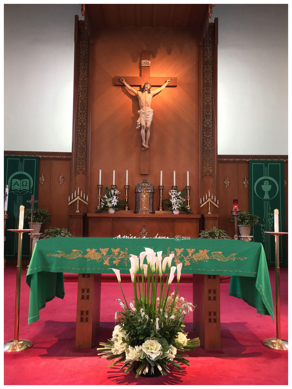Ordinary Time St Dunstan Catholic Church Millbrae Ca