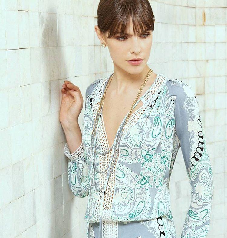 Summer prints and silver accessories #bobosummer