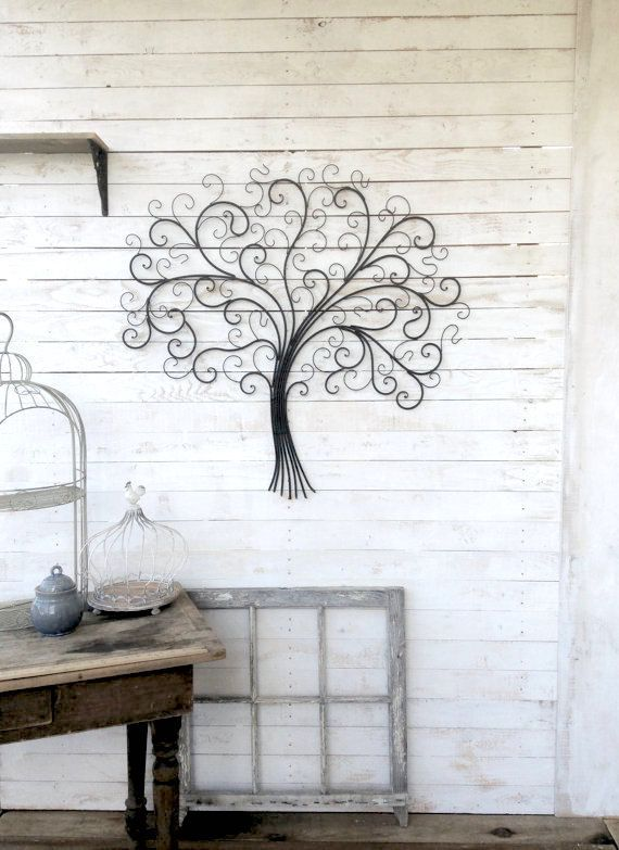 m tal art mural d coration murale en m tal art par honeywoodhome d co d coration murale. Black Bedroom Furniture Sets. Home Design Ideas