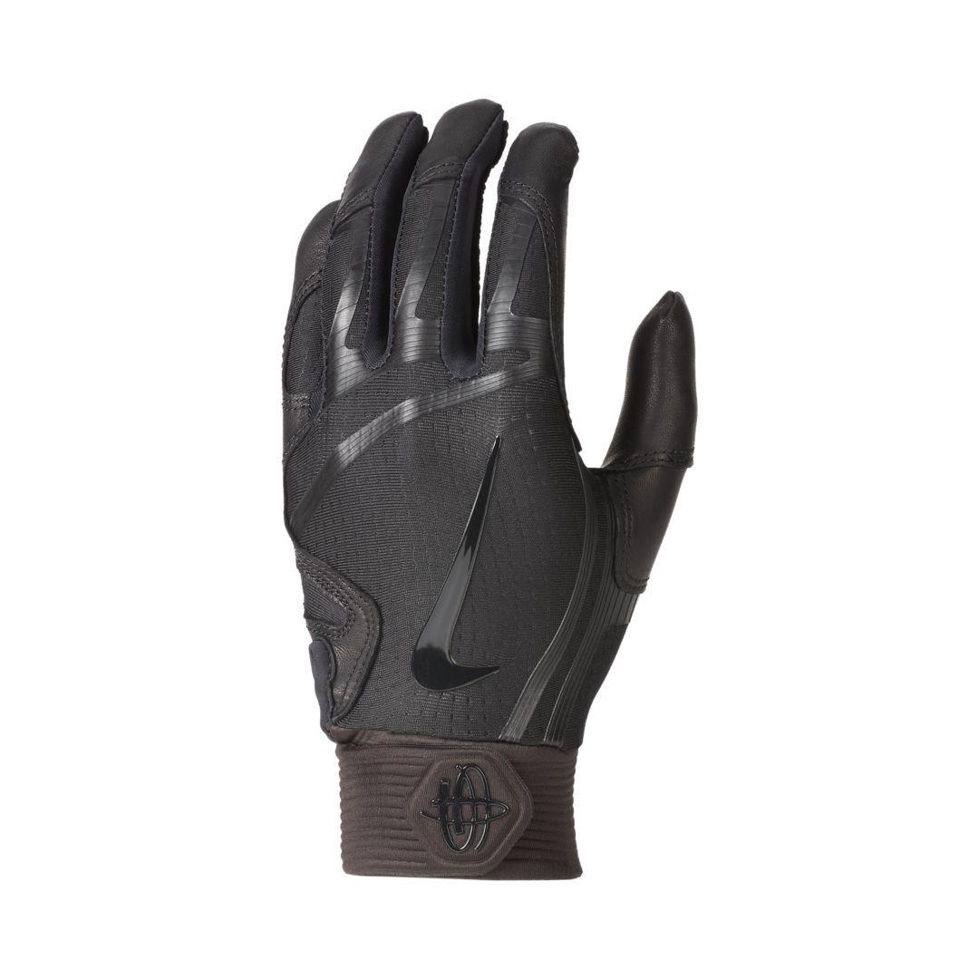 Nike Huarache Elite Baseball Batting Gloves Size M (Black ...