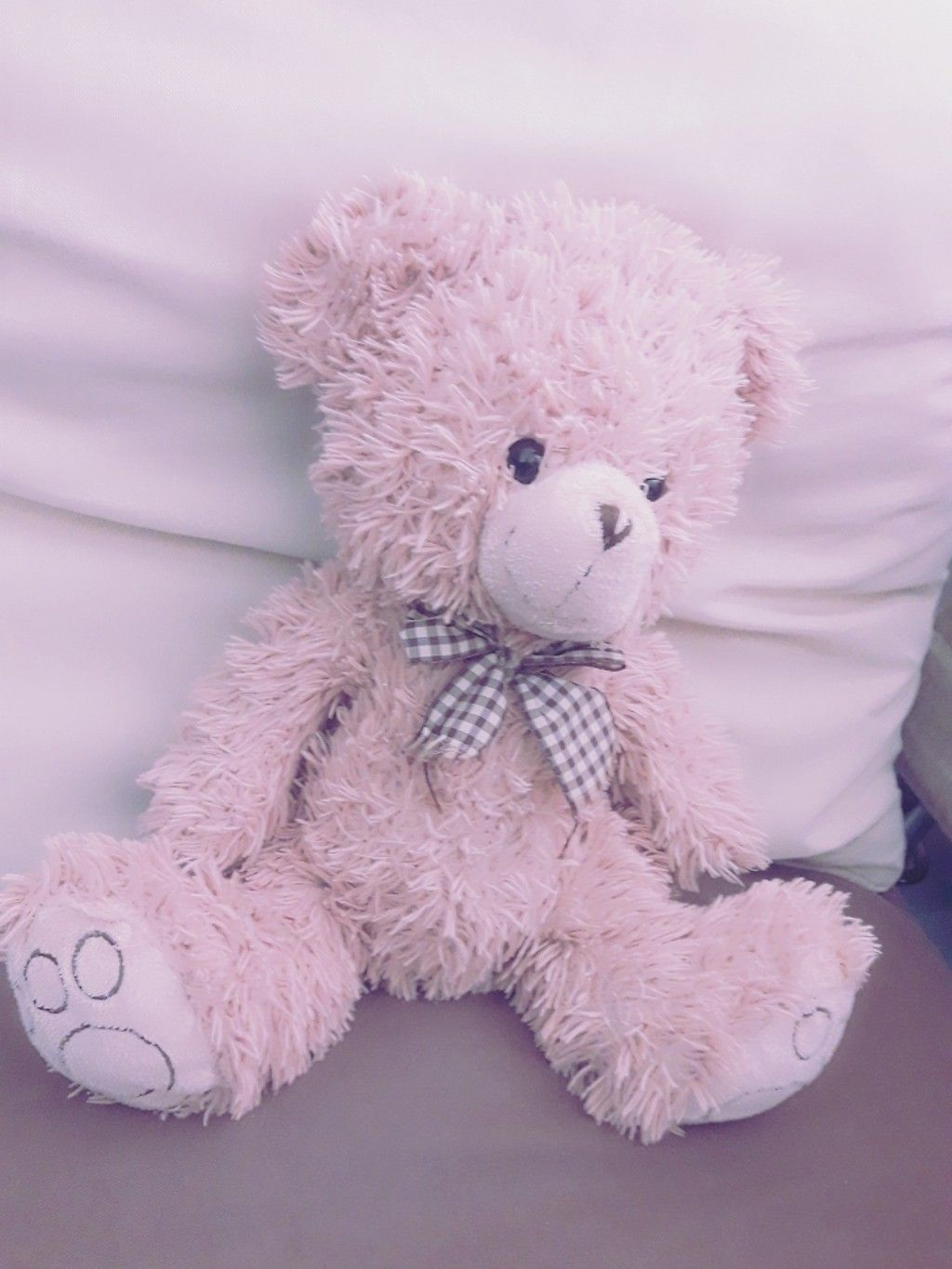 A Bear And Pink Bear Pink Tumblr Aesthetic Tumblr Pink