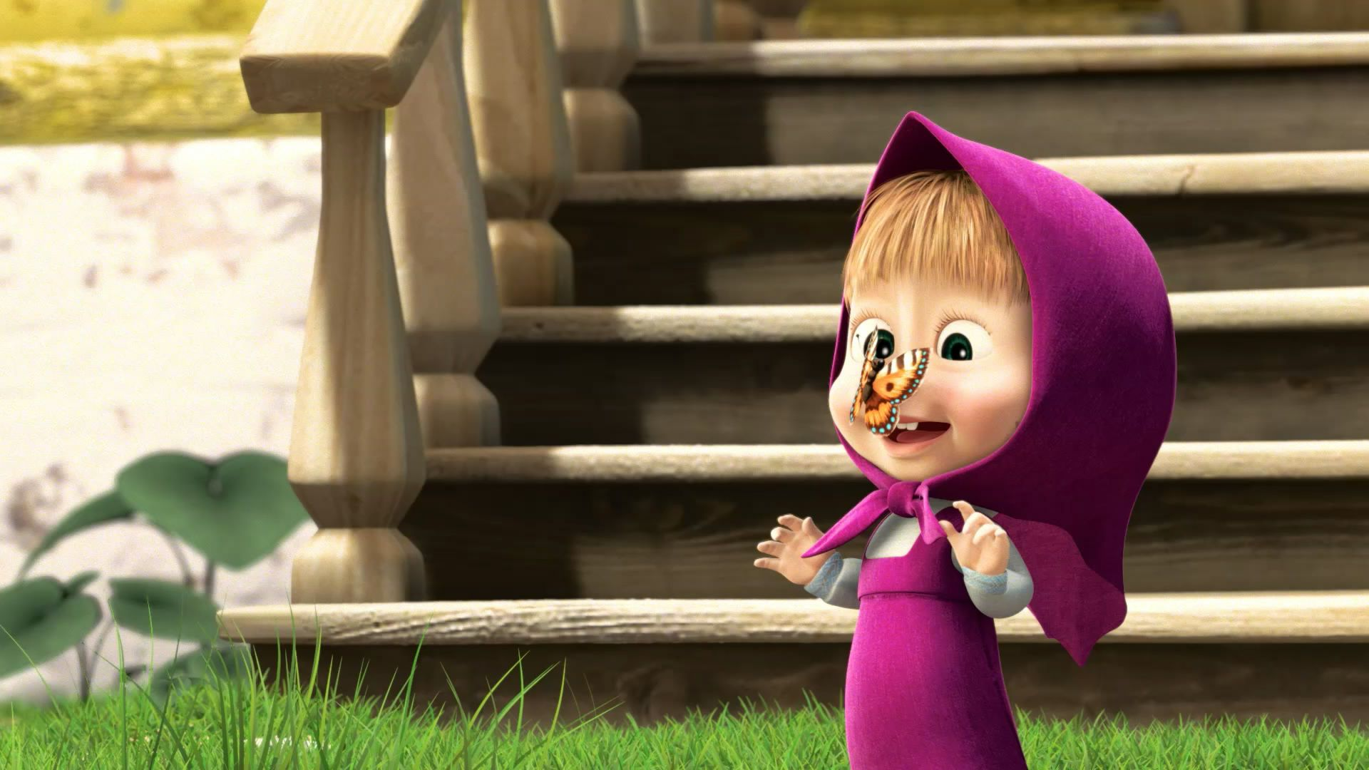 Masha And The Bear Wallpaper Cute Cute Masha And The Bear