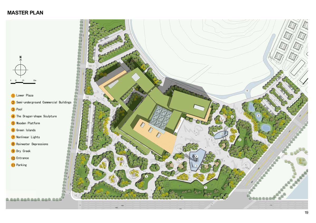 Contemporary Landscape Architecture Plan cultural-plaza-park-29 « landscape architecture works | landezine