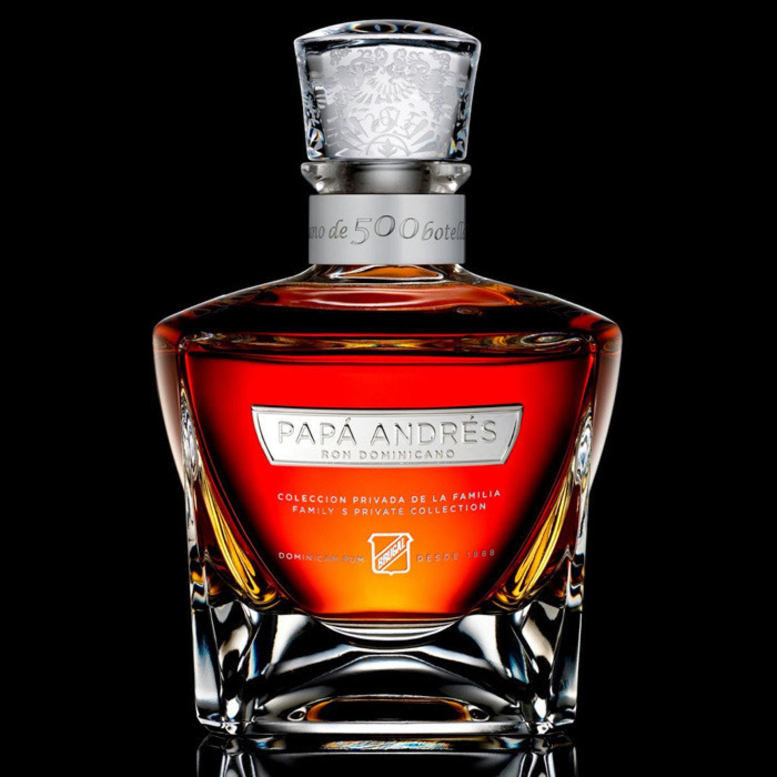 Papa Andres Rum Rum Liquor Bottles