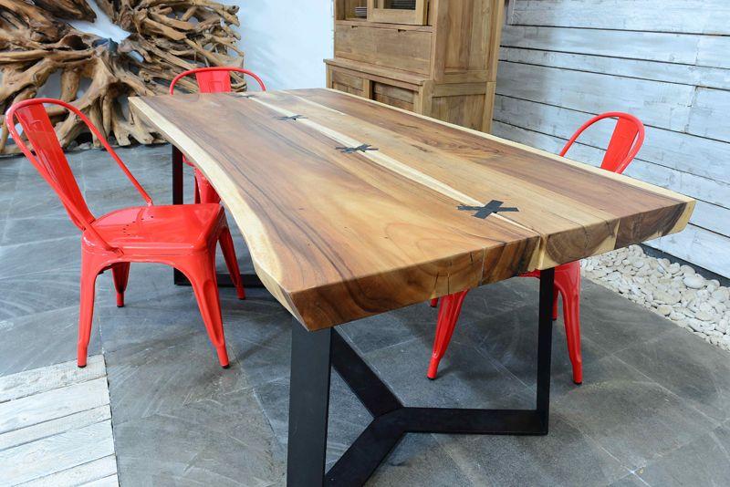 Tavoli outdoor alexio tavolo suar massello 1120 nel for Tavole da pranzo