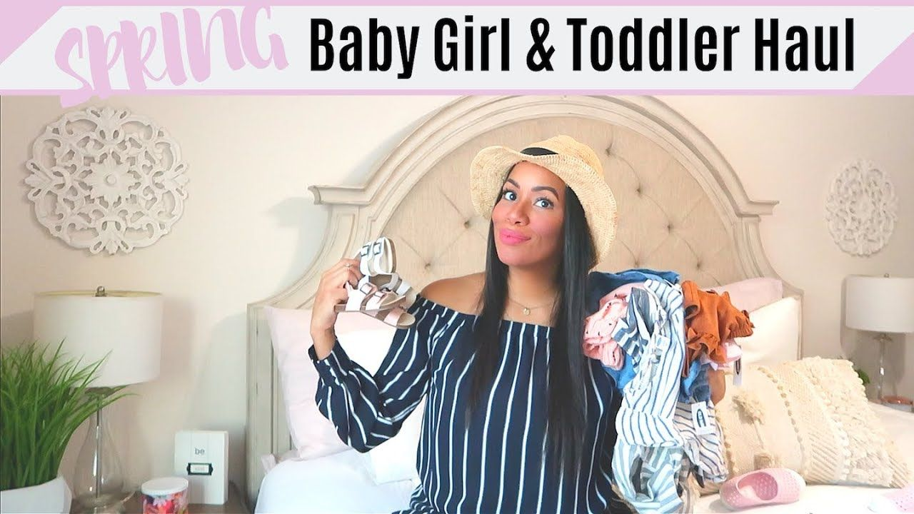 2a610e05afe4 SPRING TODDLER & BABY GIRL HAUL 2019 / PREGNANT MOM OF 2 / SPRING CLOTHING  HAUL / OLD NAVY & BABYFAB - YouTube