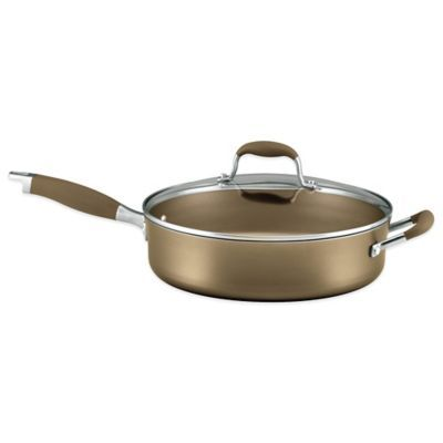 Anolon Advanced Umber 5 5 Qt Covered Saute Pan Bronze Products