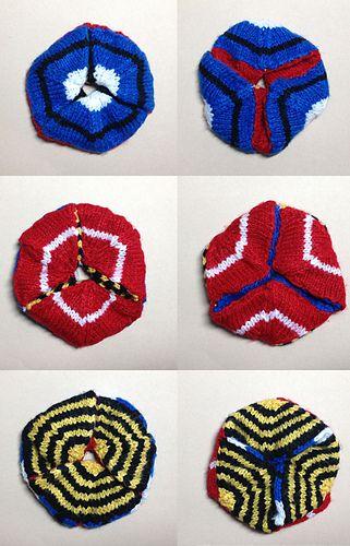 Hexaflexagon pattern by Max Alexander | Math | Pinterest | Pattern ...