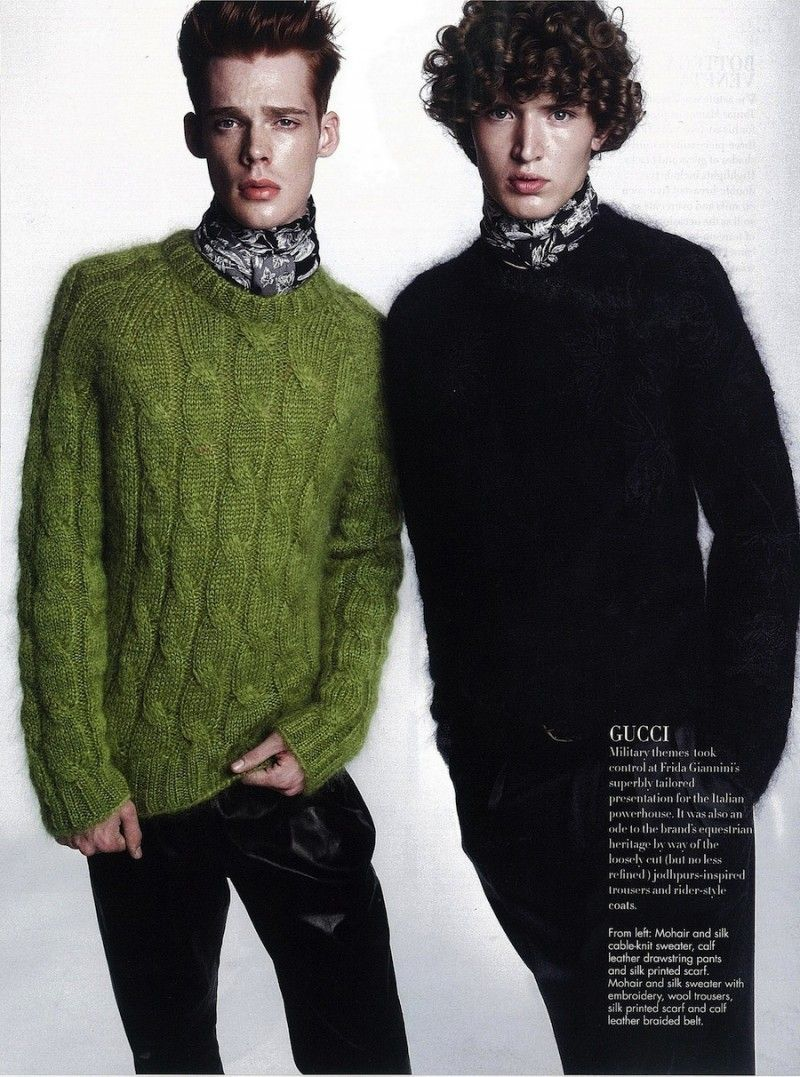 Australian Model Cameron Gordon and an unknown Model by Alwin Oh for the August 2013 Issue of Style:Men Singapore