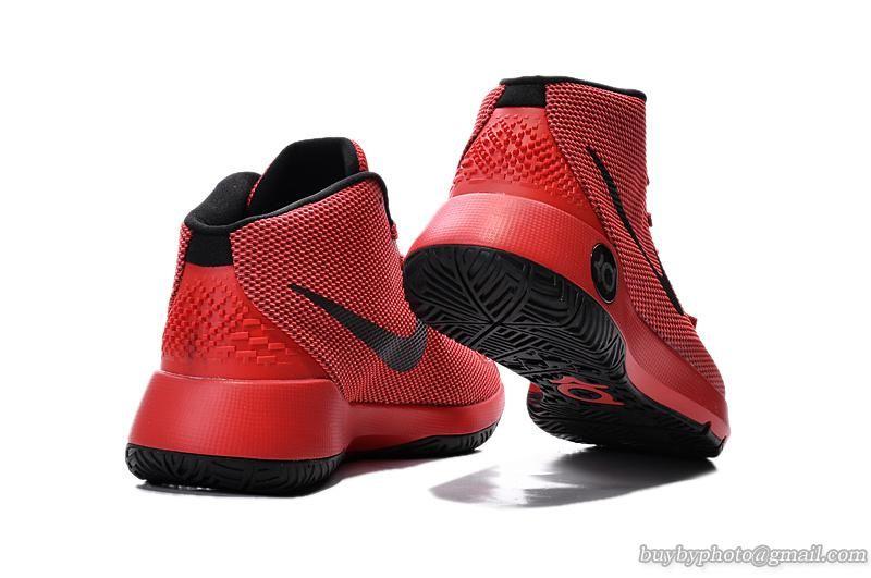 Nike Kevin Durant VIII KD8 TREY 5 III EP Basketball Shoe 749378 Black/Red