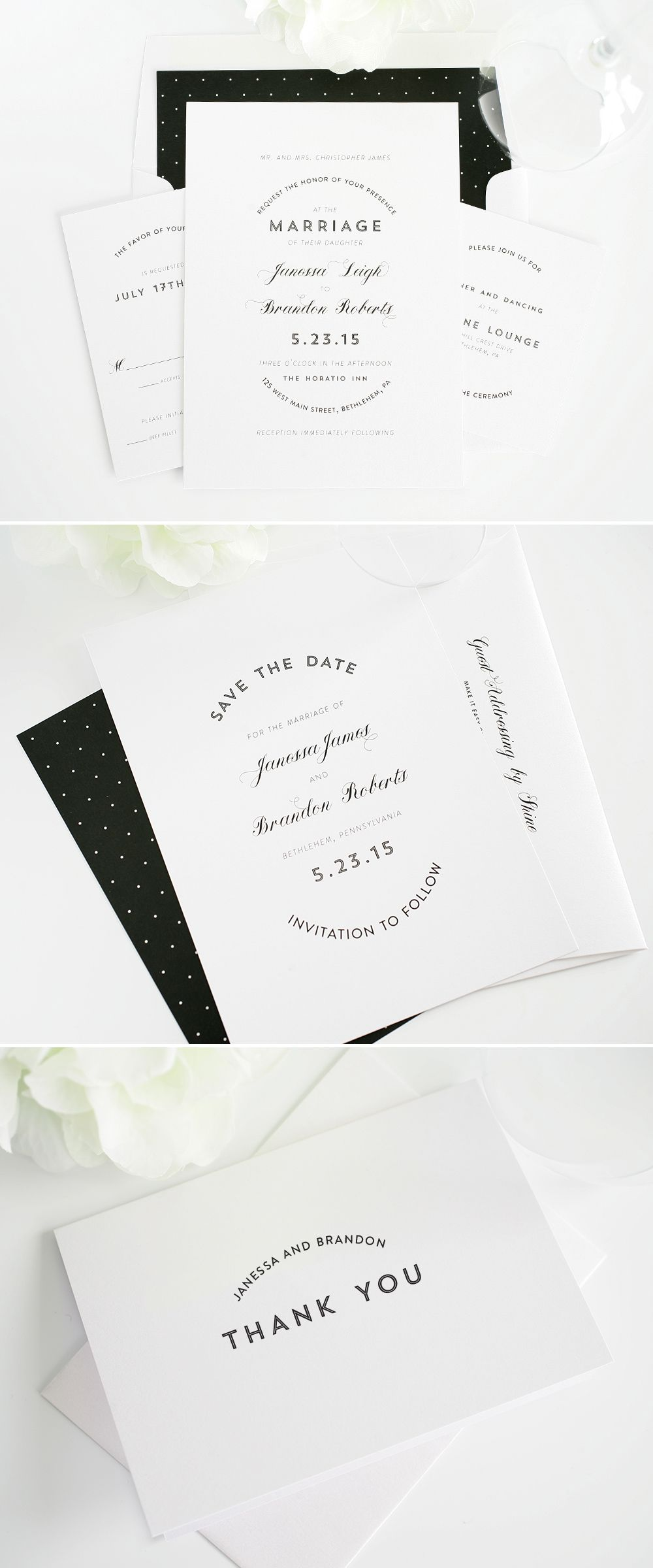 Marriage Label Wedding Invitations | Le Paperie | Pinterest | Slate ...
