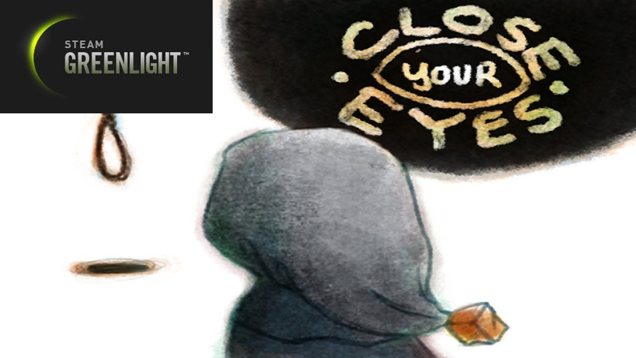 Steam Greenlight: Close Your Eyes, Help a friend out!