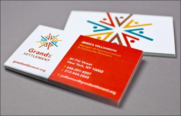 7 best images about Nonprofit Business Card Design on Pinterest