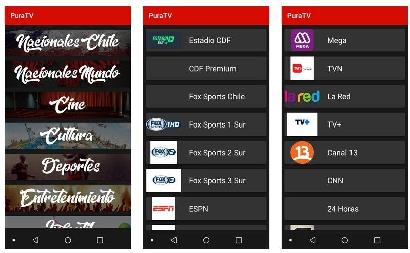 PuraTV APK una aplicación para ver CDF Premium » Futbol