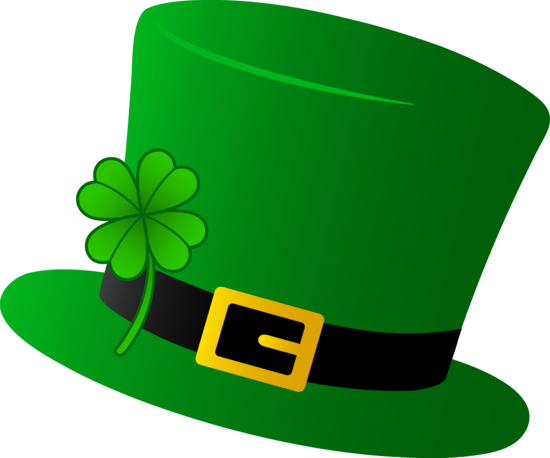 green saint patricks day hat free clip art everything st rh pinterest com free st patrick's day birthday clipart happy st. patrick's day free clipart