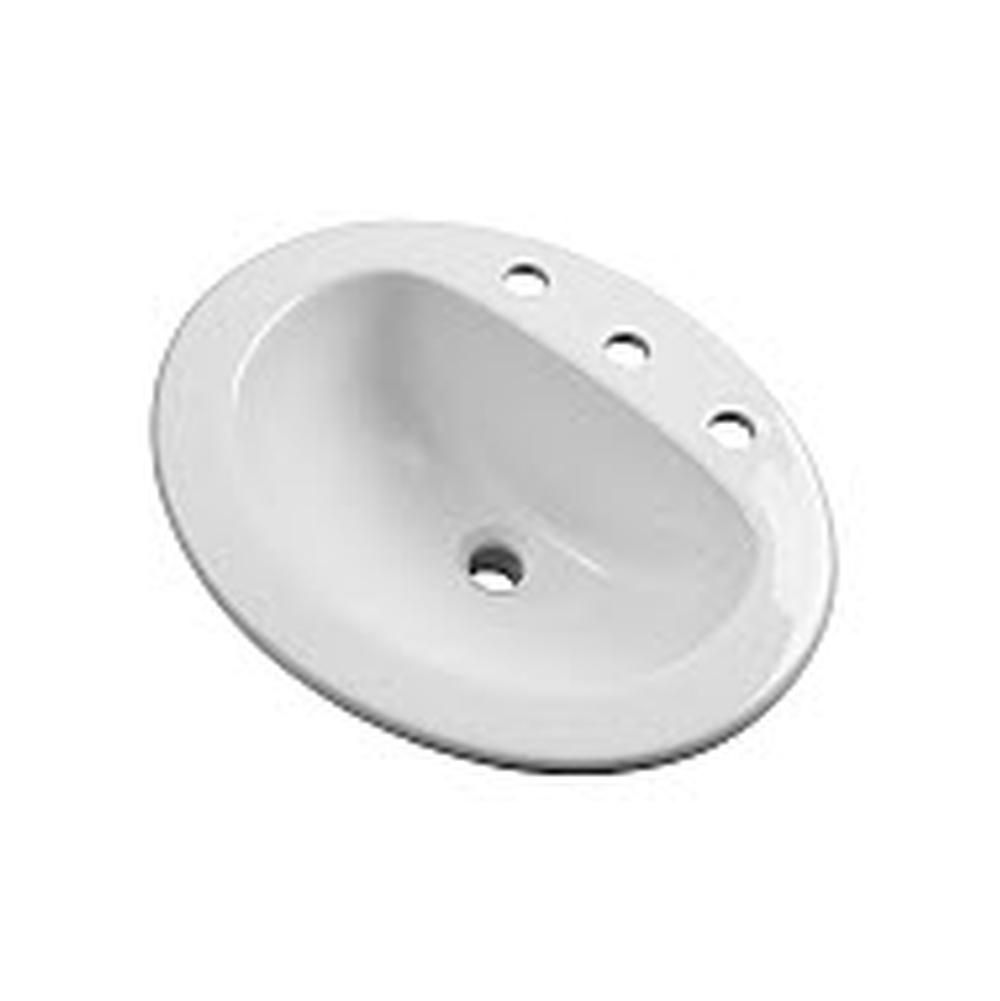 ... Decorative plumbing showroom in Walled Lake, MI with a variety of  Kitchen and Bathroom products including Drop In Bathroom Sinks in a White  finish