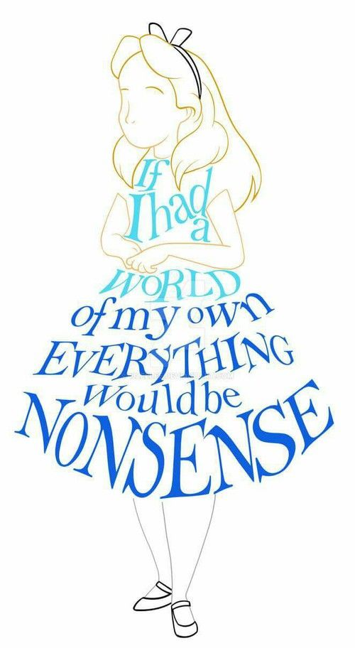 Alice In Wonderland Check Out