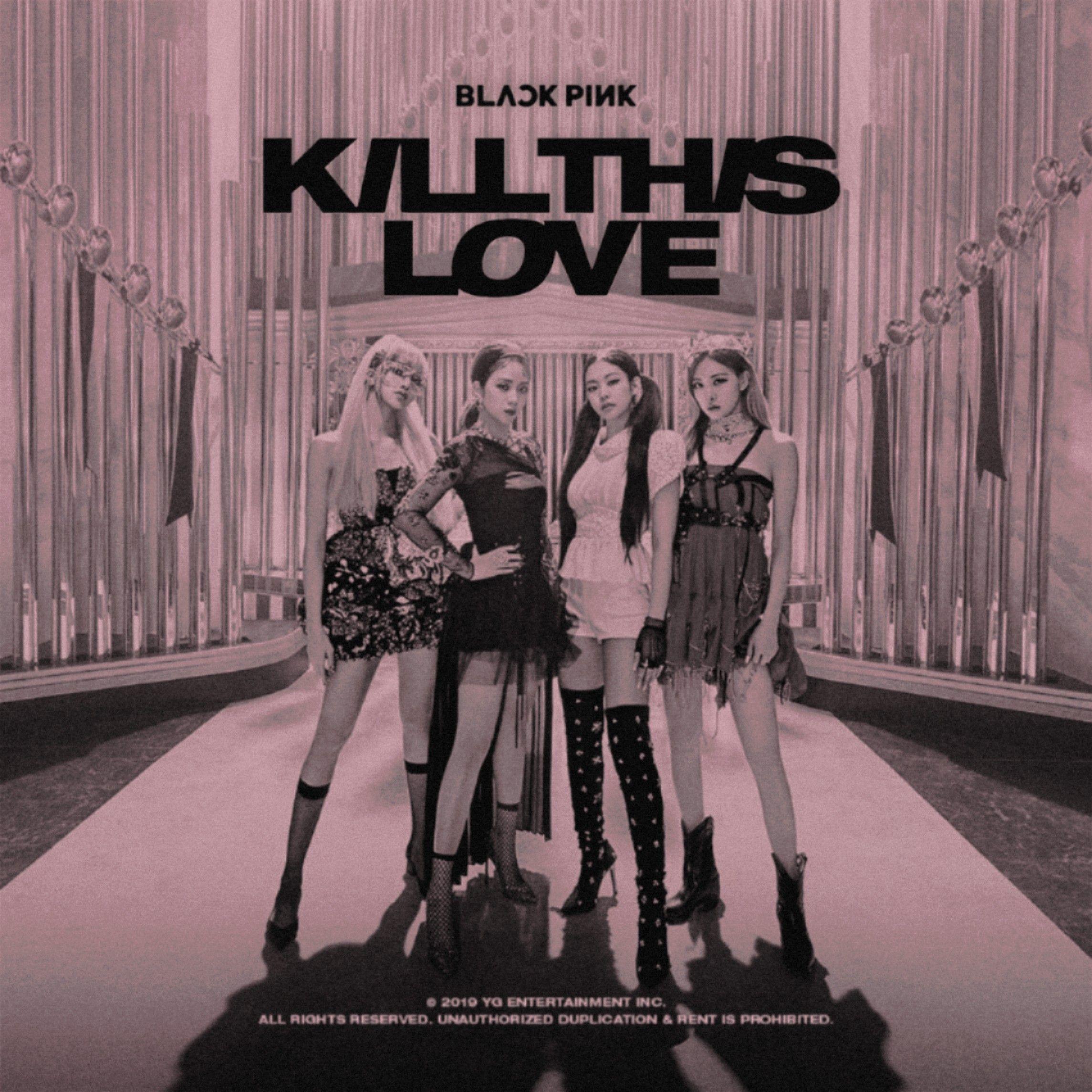 BLACKPINK KILL THIS LOVE album cover by LEAlbum on DeviantArt