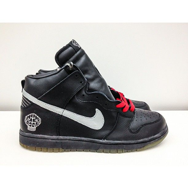 timeless design 61ae4 c3a3a Billionaire History  Pharrell x Nike Dunk High, 2004. Limited to 1,050  individually numbered