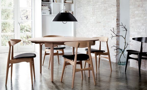 50 Stunning Scandinavian Style Chairs To Help You Pull Off The Look Modern Dining Room Retro Dining Rooms Classic Dining Room