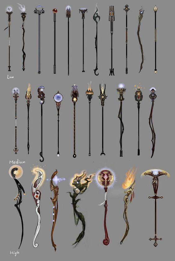 Wizards Wands & Staffs