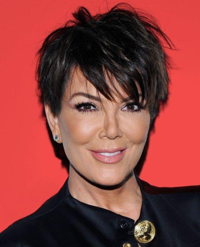 Image Result For Kris Jenner Pixie Haircut Their Hair Pinterest
