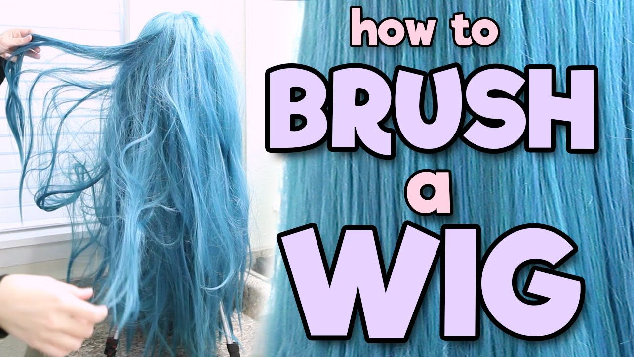 How to Brush a Wig Alexa's Wig Series 2 Halloween