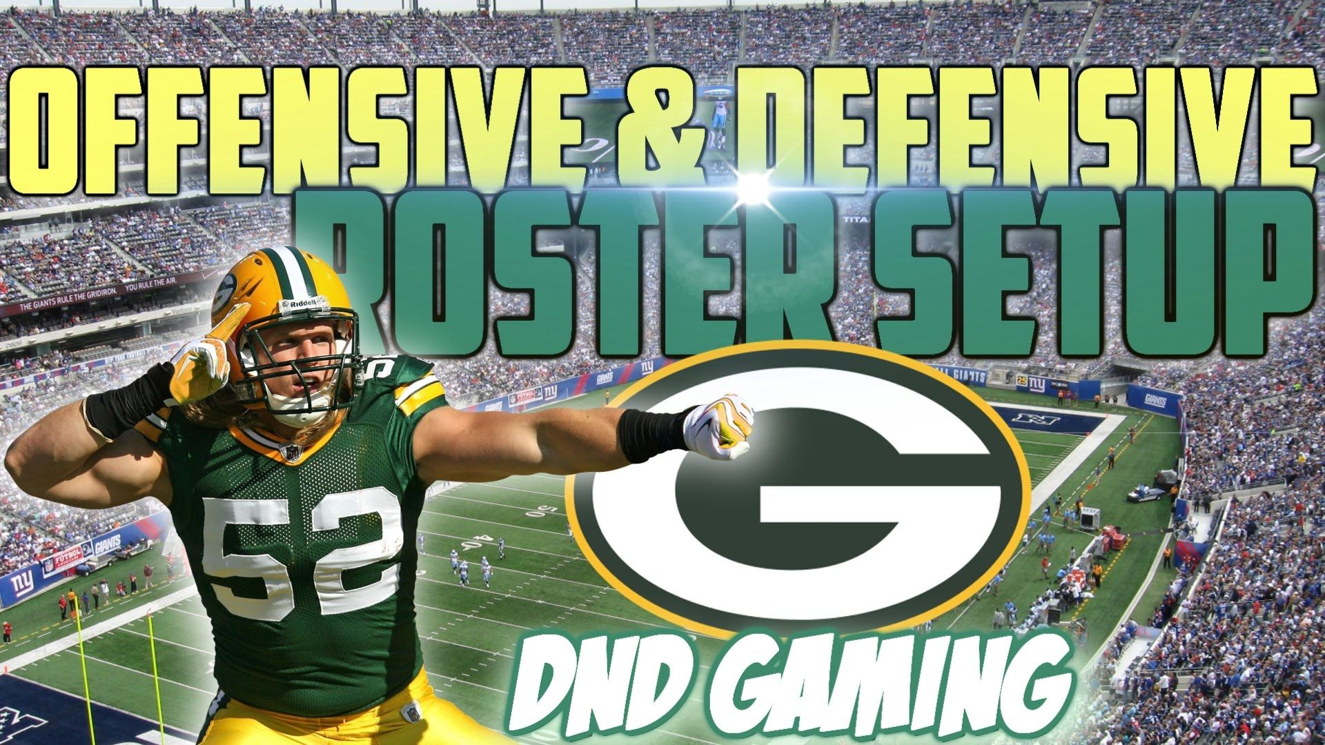 Free Madden 16 Tips Greenbay Packers Offensive Defensive Roster Setup Get Your Best In The Game Madden Nfl Green Bay Green Bay Packers
