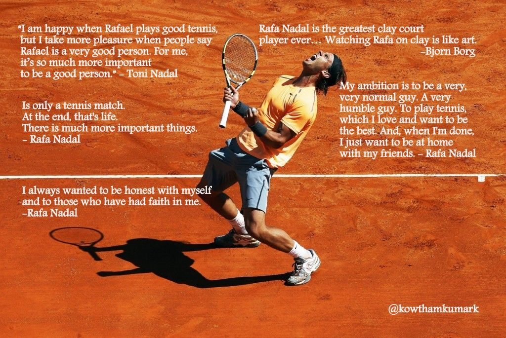Tennis Quotes Funny Google Search Rafael Nadal Tennis Tennis Party