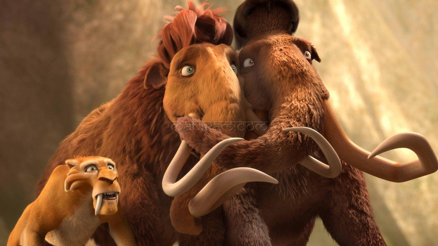 manny and ellie from ice age 2 | disney couples | pinterest | ice