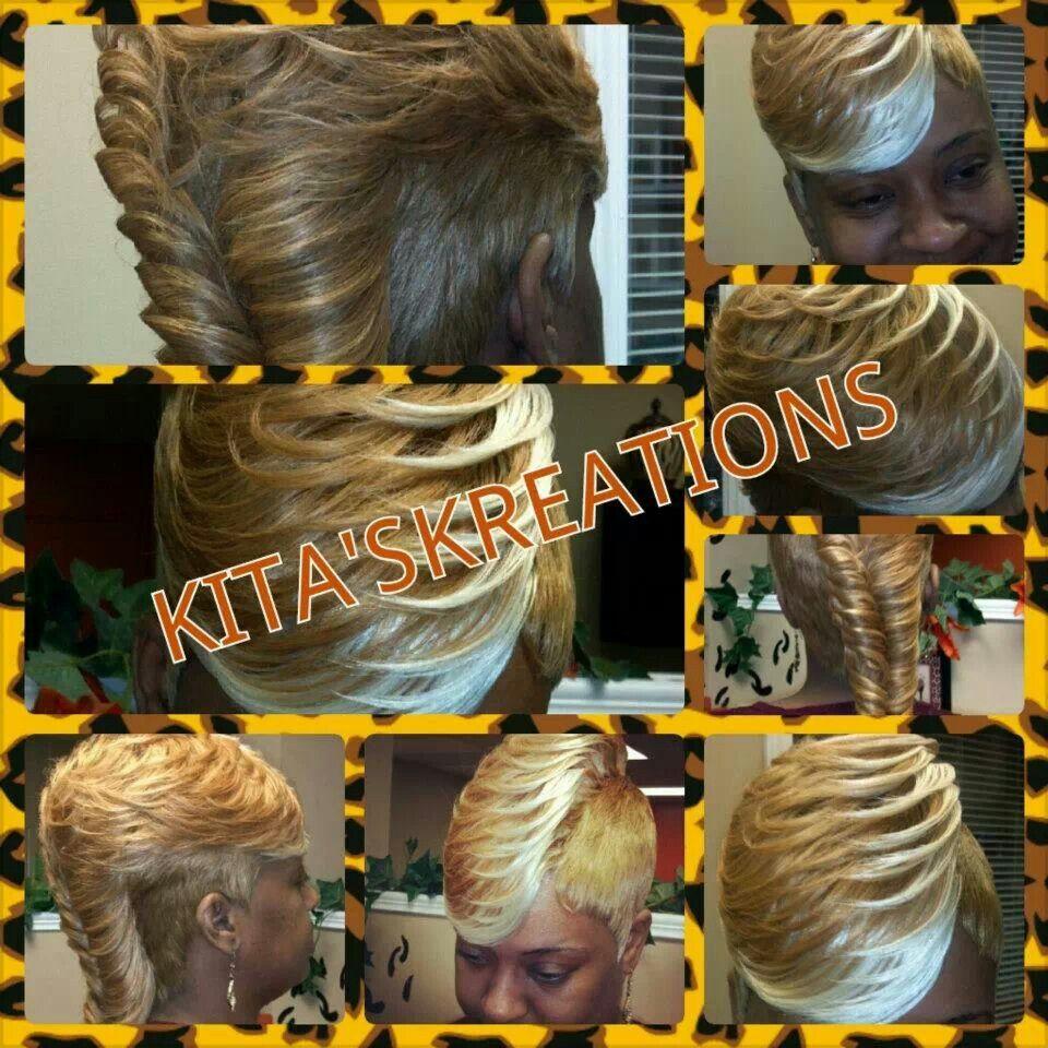 Honey Ice Quick Weave #27piecehairstyles