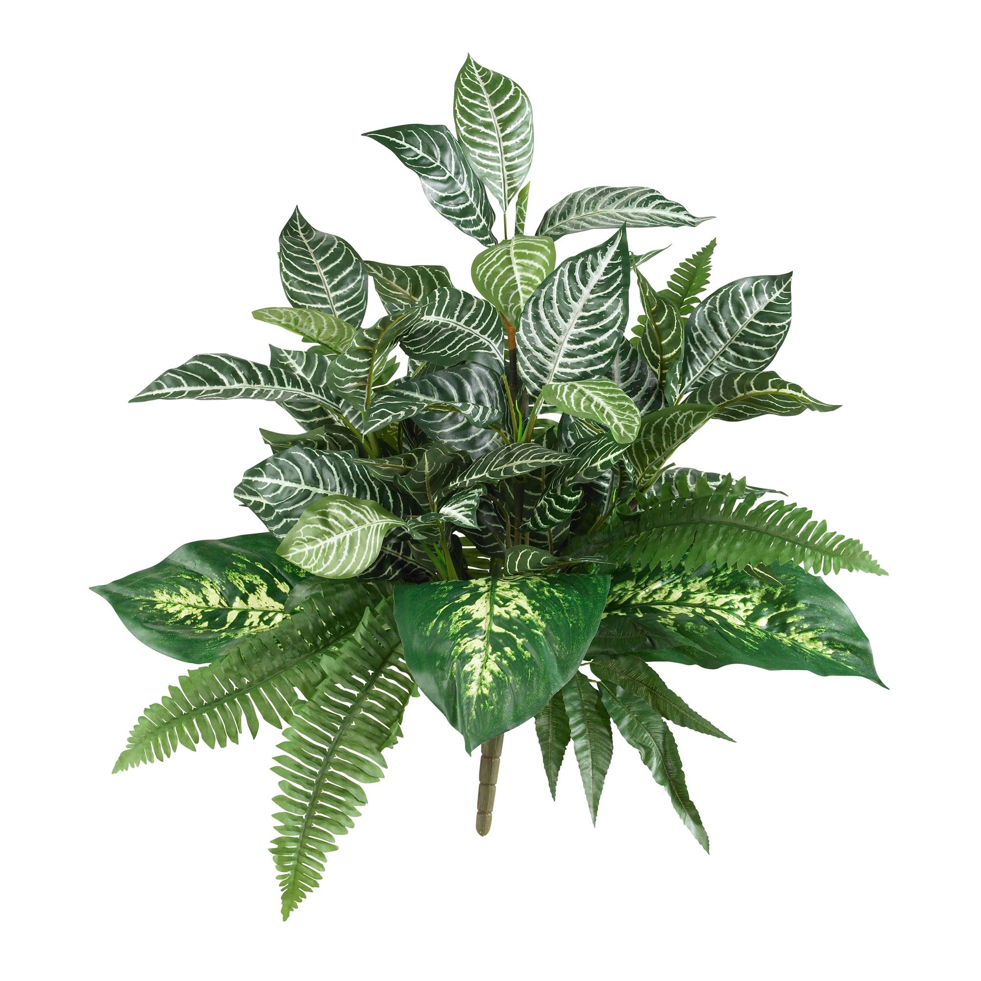 "25"" Mix Greens Artificial Plant (Set of 2) -   13 table plants Png ideas"