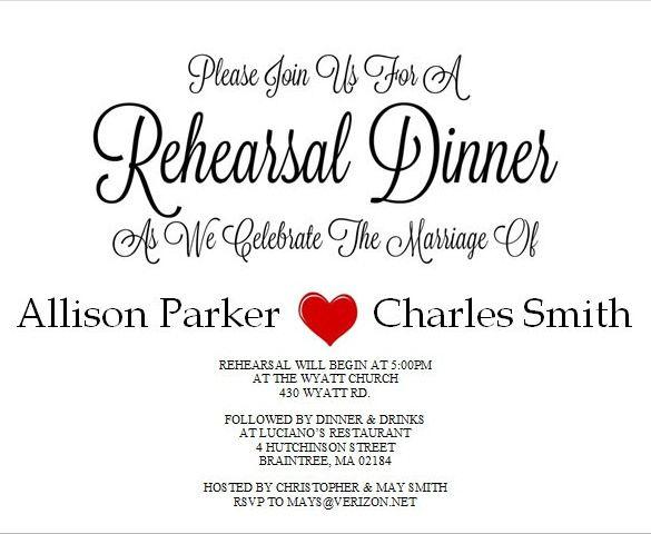 10+ Dinner Invitation Templates Free Printable PDF  Word Formats