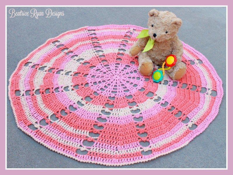 sugar-wheel-baby-blanket-free-crochet-pattern | Crochet | Pinterest ...