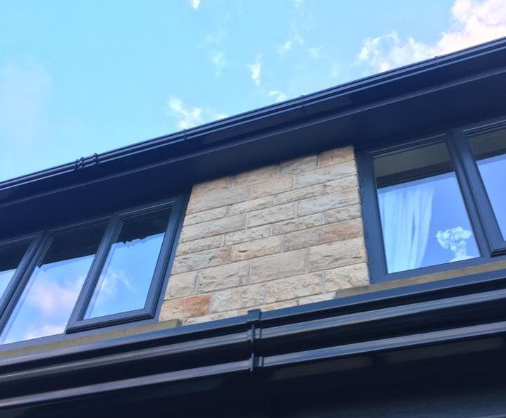 The Purpose And Importance Of Fascias And Soffits For Roofs Eagle Roofing Roofing Upvc Types Of Roofing Materials