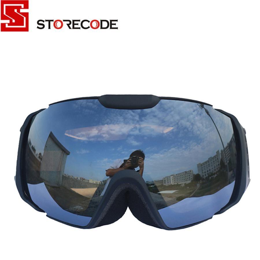 c5e5bb0d28 StoreCode Brand Ski Goggles Double UV400 Anti-Fog Women Men Skiing  Snowboard Black Frame Snow Goggles. Yesterday s price  US  33.00 (28.95  EUR).