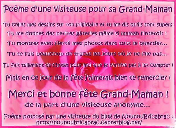 Poeme D Anniversaire Pour Ma Grand Mere New Poeme Pour Grand Mere