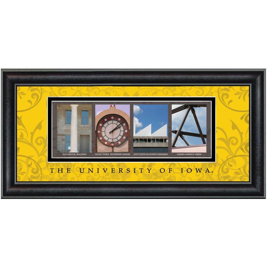 Prints Charming University of Iowa Framed Wall Art #VonMaur ...