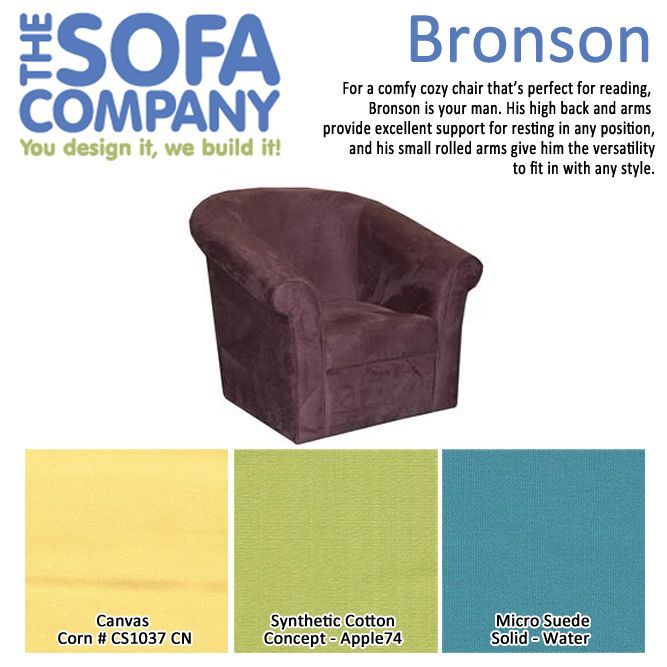 Check out our style of the week: Bronson! A comfy, cozy chair that's perfect for reading! With much versatility he fits in with any decor.