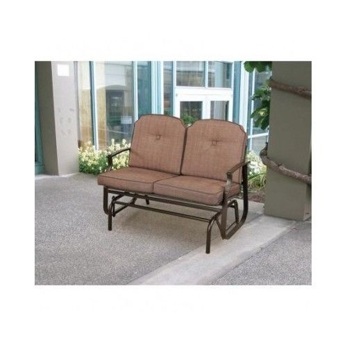 Cool Outdoor Patio Glider Metal Porch Swing 2 Seater Chair Andrewgaddart Wooden Chair Designs For Living Room Andrewgaddartcom