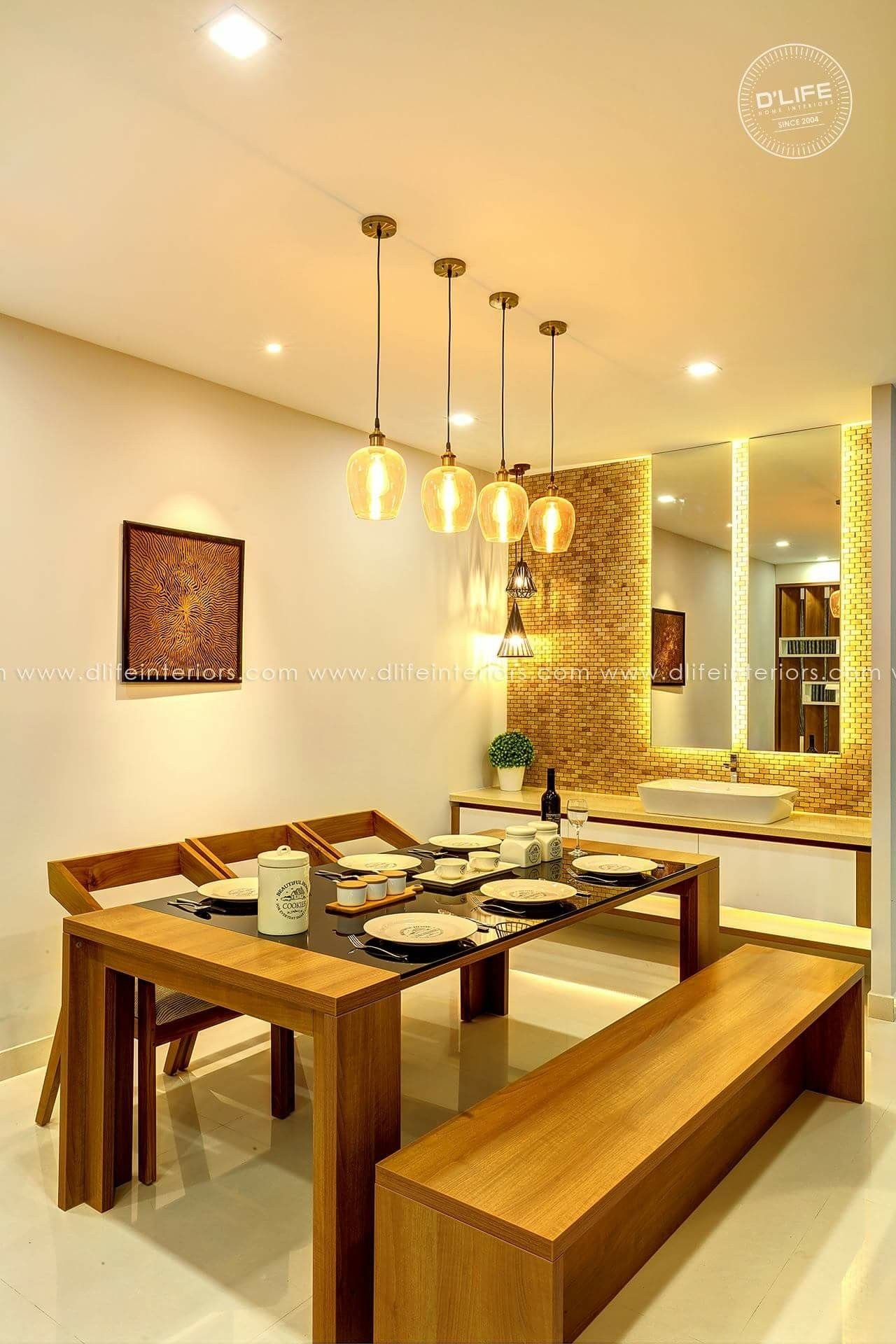Dining Table Dining Room Table Decor Kitchen Interior