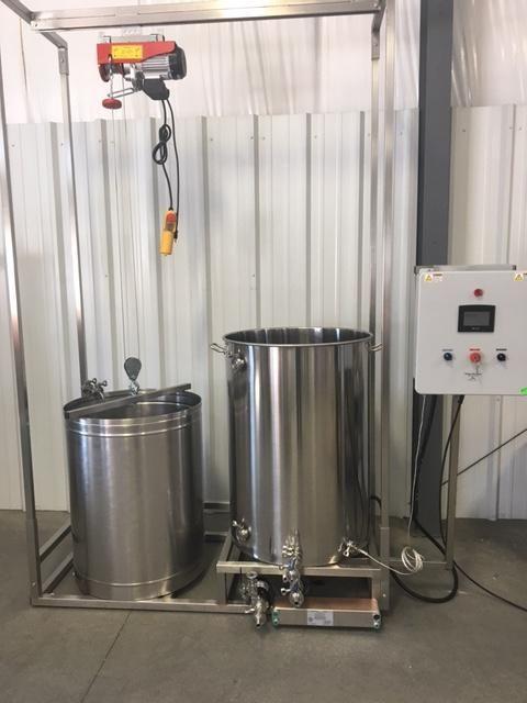 Complete Pro Level Nano Brewer Down Under Single Vessel