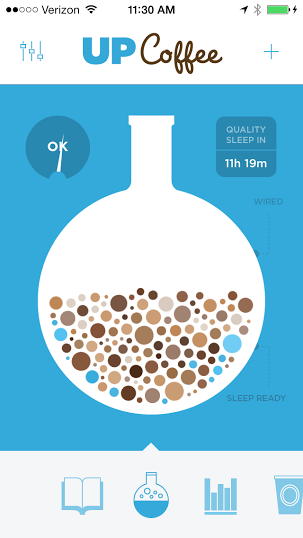 Jawbone UP coffee app: Awesome way to track caffeine intake and see how it relates to sleep
